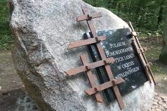 Pomnik Polaków w Okresie StalinowskimNadleśnictwo Babki pod Poznaniem2014
