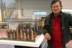 Przy szachach nagrodzonych nagrodą Grand Prix na wystawie Poznańskie Koziołki 2015
